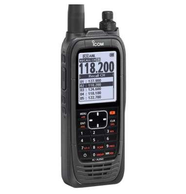 ICOM Aviation Radio Handheld IC-A25CE (#33) Lite - 8.33 & 25 kHz Channel Spacing, COM Channels