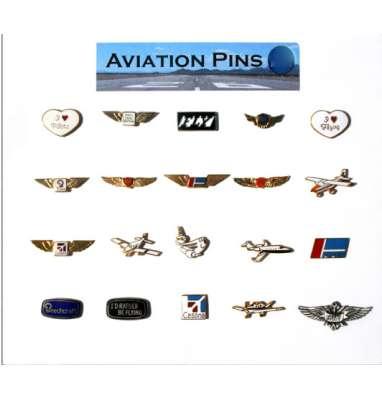 Assortiment Aviations Pins