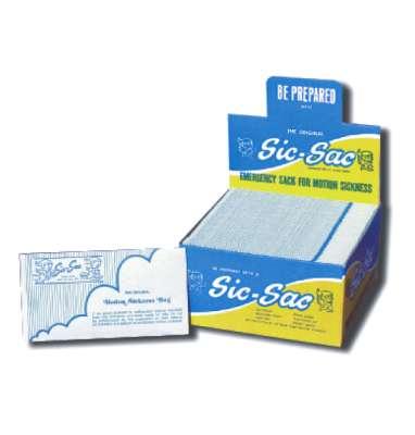 Sick Sack Air Sickness Bags