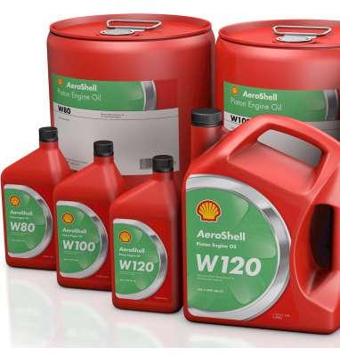 AEROSHELL AVIATION OIL W80,W100,W120