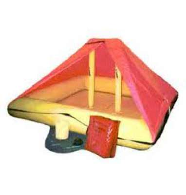 Life Raft, 4-6 persons, with canopy
